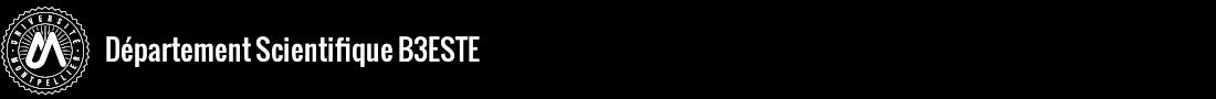 Département scientifique B3ESTE Logo